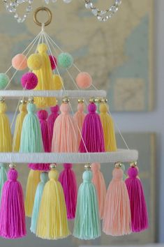 Inspirational concepts that we absolutely adore! Diy Crafts Hacks, Diy Crafts For Gifts, Diy Home Crafts, Craft Stick Crafts, Easy Diy Crafts, Yarn Crafts For Kids, Crafts For Teens To Make, Upcycled Crafts, Diy Craft Projects