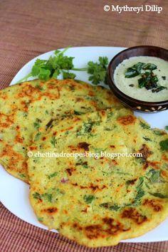 Chettinad Special Adai( Mixed Dal Pancakes) http://chettinadrecipesblog.blogspot.com.au/2013/07/adai-recipe.html