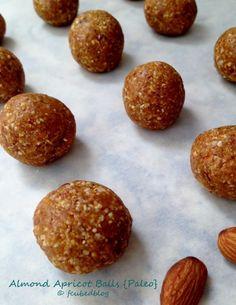Almond Apricot Balls | fastPaleo Primal and Paleo Diet Recipes
