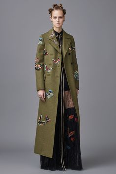 Military Chic! Valentino Pre-Fall 2016!