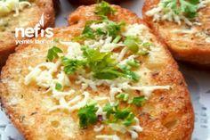 Börek Tadında Yumurtalı Ekmek Tarifi Baked Potato, Cooking Recipes, Potatoes, Baking, Ethnic Recipes, Food, Omlet, Chef Recipes, Potato