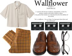"""The Perks Of Being A Wallflower."" by hippierose on Polyvore"