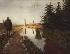 Martin Gale RHA Walking in Clouds etching cm x 23 cm] Edition of 40 unframed Graphic Art Prints, Fine Art Prints, Farm Yard, Woodstock, Printmaking, Contemporary Art, Art Gallery, Clouds, Explore