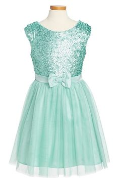 Zunie 'Paige' Sequin Party Dress (Big Girls) available at #Nordstrom