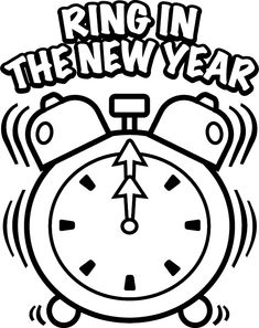 new years coloring pages Happy New Year Coloring Printable Pages