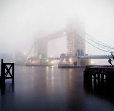Early Morning Mist, Tower Bridge - the grey was very oppressive when I was going to and from work but now I look at it in miss it. How odd. Oh The Places You'll Go, Places To Travel, Places To Visit, Tower Bridge London, Europe, London England, Wonders Of The World, The Good Place, Cool Photos