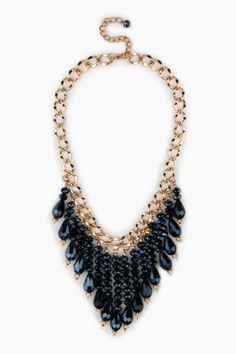 Fayette Necklace in Blue