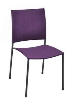 Chaise de jardin avec assise toile royal cassis - L'Entrepôt du Bricolage d'Albertville