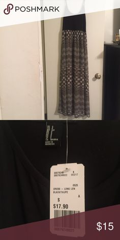 NWT size small maxi dress **NO TRADES** *actual brand is forever 21, tagged LF for views**. Size small, brand new with tags. Gorgeous dress, lined inside halfway down. Doesn't fit me, so sad to part with this! **NO TRADES OR MODELING** LF Dresses