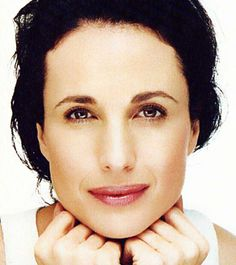 Andie McDowell. The Most Beautiful Girl, Beautiful People, Martin Schoeller, Anouk Aimee, Andie Macdowell, Brunette Woman, Square Faces, Female Actresses, Female Stars