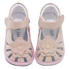 Jack and Lily Infant Girls Flower Sandal