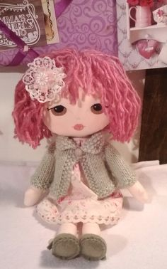 Maggie a gingermelon little lady doll 12 inches