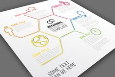 Infographic Template - Hexagon by Orson on Creative Market