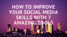 How To Improve Your Social Media Skills With 7 Amazing Tools Social Media Marketing Business, Internet Marketing, How To Get Snapchat, Marketing Articles, Affiliate Marketing, Software, Quotes By Famous People, That Way, Improve Yourself