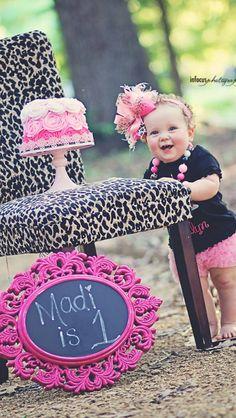 1st Birthday - IDEAS @Meghan Campbell