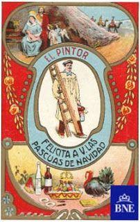 VINTAGE, EL GLAMOUR DE ANTAÑO: ¡El aguinaldo! Tarjetas Navideñas de Oficios 2
