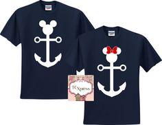 Nautical Disney Vacation Shirts Disney Vacation Tshirt by TCXpress