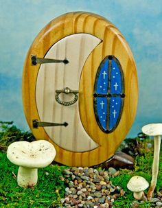 fairy garden doors | Starry Night Fairy Door