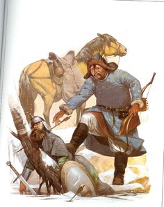 The Mongols were nomadic herders that lived off their animals meaning no agriculture. All their people learned to ride a horse from a young age, boys and girls. Men held more power than women but the women still held considerable familial influence. Free men elected the leaders and the leaders stayed in their position as long as they were successful. Their normal social unit was a tribe which was divided into kin-related groups. For offense and defense these clans joined to form…