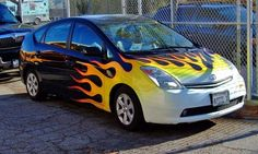 Would you do this to your Toyota Prius?