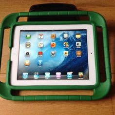 BLACK Apple iPad Silicone Skin Live Laugh Love Wrist Band!!! Apple iPad Accessories kit for travel and protection Includes: BLUE Apple iPad Messenger Bag Carrying Case Apple iPad Screen Protector