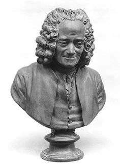 Bust of Voltaire (François-Marie Arouet, 1694–1778), after a model of 1778  After a model by Jean-Antoine Houdon