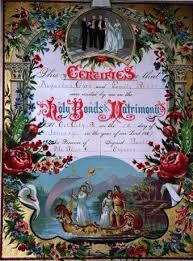 Old wedding certificates could be the new Wedding Marriage Certificates?