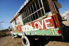 Salvation*Mountain by .elsie*cake., via Flickr . i'm a huge fan of this.