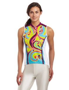 Pearl Izumi Womens Select LTD Sleeveless Jersey Fern Scuba Blue Small * Check this awesome product by going to the link at the image. (Note:Amazon affiliate link)