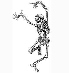 Dancing_Skeleton_Howling_Antiquity_Vintage_Toronto