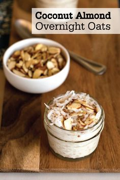 Make this fun and easy breakfast recipe for a delicious and filling meal. Easily prepare these Coconut Almond Overnight Oats the night before and wake up to a delicious bowl of ready-to-go oatmeal made with Quaker® Old Fashioned Oats.