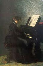 Elizabeth at the Piano (1875) Thomas Eakins (1844-1916)