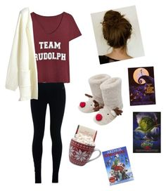 """Winter break"" by maryam-abushabab on Polyvore featuring NIKE and M&Co"