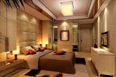 Let yourself be inspired by these 20 luxurious bedroom design ideas you will want to copy! Luxury Bedroom Design, Luxury Rooms, Luxury Decor, Master Bedroom Design, Luxurious Bedrooms, Bedroom Designs, Interior Design, Bedroom Ceiling Designs, Luxury Loft