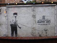 Banksy art - W.B.
