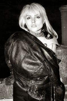 Debbie Harry. When Blondie's Heart Of Glass burst onto the airwaves in 1979, a whole army of teenage girls started emulating lead singer Harry's insouciant, laid-back disco style: mussed hair, red lips, funked-up maxis, leopard print. A great piece of trivia: in the now-iconic music video for the single, Harry wears an asymmetrical silver dress designed by Stephen Sprouse