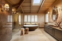 Luxury wide bathroom see more 25 Contemporary Interior Designs Ideas