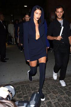 The Dreamer LDN — Bella Hadid for DKNY SS17.