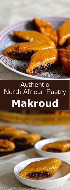 Makroud is a popular pastry in Algeria and Tunisia, which is also found in some cities of Morocco, Libya and Malta. Tunisian Food, Algerian Recipes, Nigerian Food, Arabic Food, Arabic Dessert, Arabic Sweets, Eastern Cuisine, Ramadan Recipes, Middle Eastern Recipes