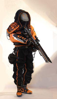 Neon soldier, Patrick Brannvoll