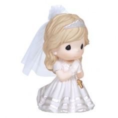 Precious Moments, Remembrance Of My First Holy Communion, Bisque Porcelain Figurine, Girl, 133024 First Communion Party, First Holy Communion, Comunion Cakes, Cake Paris, Harry Potter, Precious Moments Figurines, Religious Gifts, Religious Images, Special Girl