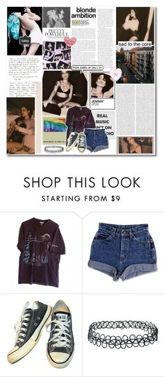 """""""you know the two of us are just young gods, ♡"""" by cooperanna ❤ liked on Polyvore featuring Fountain, PAM, Oris, Converse and Topshop"""
