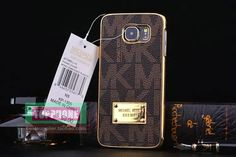 49b29810b4a91 Michael Kors Case Cover for Galaxy Edge Brown
