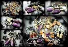 Raw Gem Look Book - Amethyst & Citrine - ShannonTJewelry.com   #rawgem #rawcrystal #crystalpoints #roughgem #roughcrystal #bohonecklace #bohojewelry #bohopendant #bohocrystal #bohochic #bohemianjewelry #hippiejewelry #hippienecklace #hippiependant #festivalfashion #citrine #rawstone #rawcitrine #rawmineral #shannontjewelry #rawcitrine #citrinepoint #modernjewelry #rawamethyst #roughamethyst #goldplatedamethyst #goldjewelry #amethystandgold #uniquejewelry #statement #daintynecklace