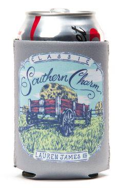 Grey - Classic Southern Charm Koozie