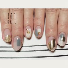 Idée Maquillage 2018 / 2019 : ˗ˏˋ ♡ @ e t h e r e a l _ ˎˊ˗ - Flashmode Belgium Korean Nail Art, Korean Nails, Nail Manicure, Diy Nails, Nail Polish, Bling Nails, Minimalist Nails, Love Nails, Pretty Nails