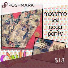 Mossimo Women's Multi Colored XXL Yoga Pants! Mossimo Women's Multi Colored XXL Yoga Pants! Only worn twice. Mossimo Supply Co Pants Leggings