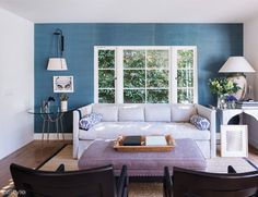 Amber Valletta's Santa Monica Abode - The Family Room from #InStyle
