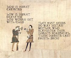 how is infant created