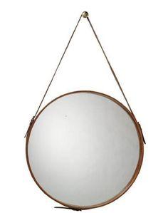 Campaign style bath mirror via Remodelista